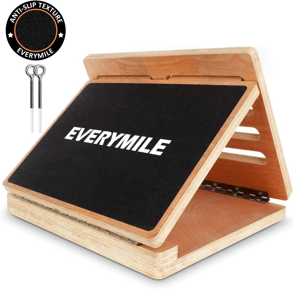 EveryMile Professional Wooden Slant Board