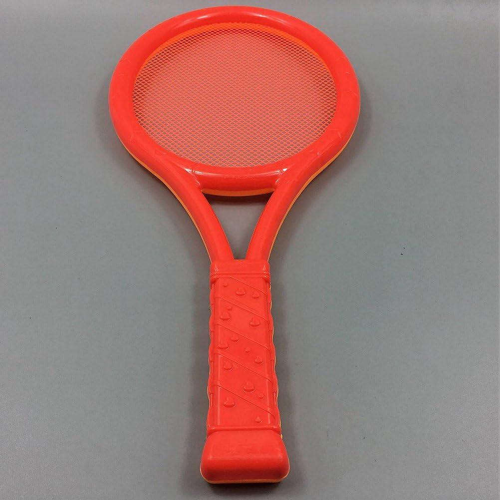 1 par color al azar VORCOOL Juego de pelotas de tenis de b/ádminton para ni/ños