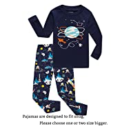 Family Feeling Little Boys Pajamas Sets 100% Cotton Pjs Toddler Kids Pj