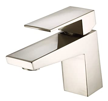 Danze D225562BN Mid-Town Single Handle Lavatory Faucet, Brushed ...