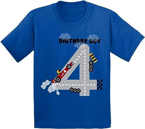 Awkward Styles Birthday Boy Toddler Shirt Boys 4th Birthday Party Race Car Shirt