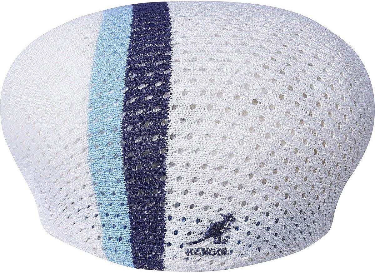Gorra plana de malla 504 blanca Kangol Ropa Sombreros y gorras ...