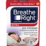 Breathe Right Extra Nasal Strips For Snore Relief - 26 ea / box