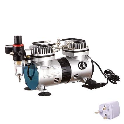 Aerógrafo Mini pistola pulverizadora Aerógrafo Compresor de aire ...