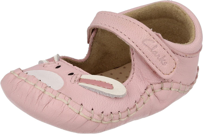 Baby Girls Clarks Pram Shoes Baby Hop