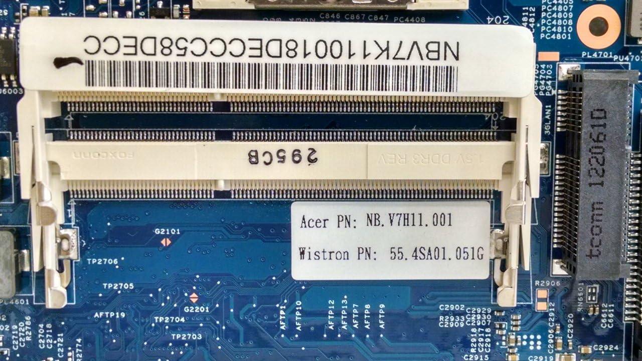 Acer TravelMate P643-V Series Notebook Motherboard i5 QM77 55.4SA01.051G NB.V7K11.001