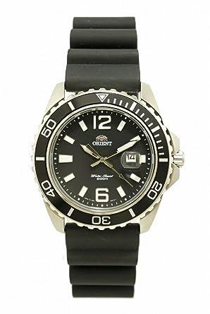e5d0617408 [オリエント] ORIENT ダイバー デイト ブラック メンズ クォーツ 腕時計 UNE3-CO-B [