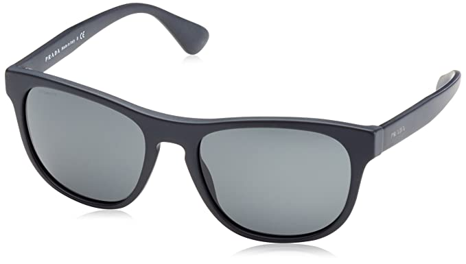 c5914f5d56f6 Image Unavailable. Image not available for. Color: Prada PR14RS 1BO1A1 Matte  Black PR14RS Wayfarer Sunglasses ...
