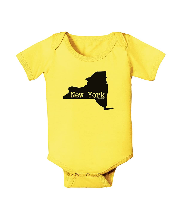 United States Shape Baby Romper Bodysuit TooLoud New York