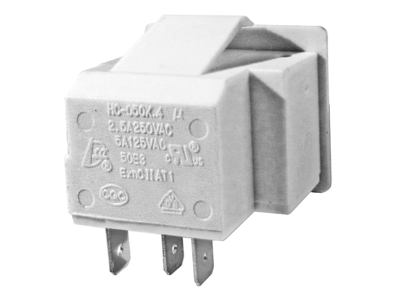 Amazon.com: Light Switch Door switch for Refrigerators UL Certified ...