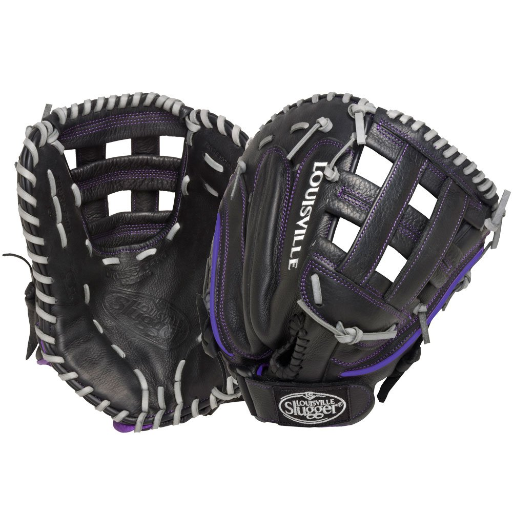 Louisville Slugger Xeno First Base Mitt、左、ブラック B0165B5PIE
