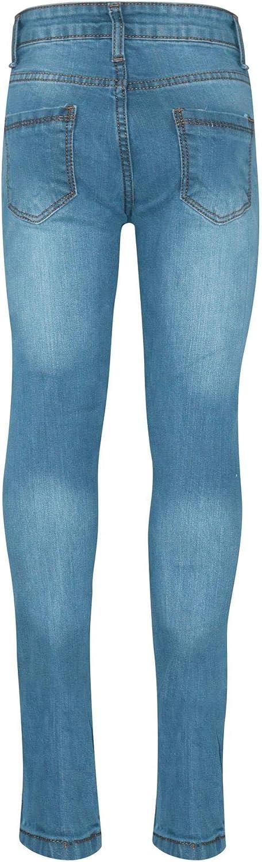 A2Z 4 Kids Kinder M/ädchen D/ünn Jeans Hellblau Designer Denim Zerrissen Mode Dehnbar Jeggings Hosen Stilvoll Hose Alter 3-14 Jahre