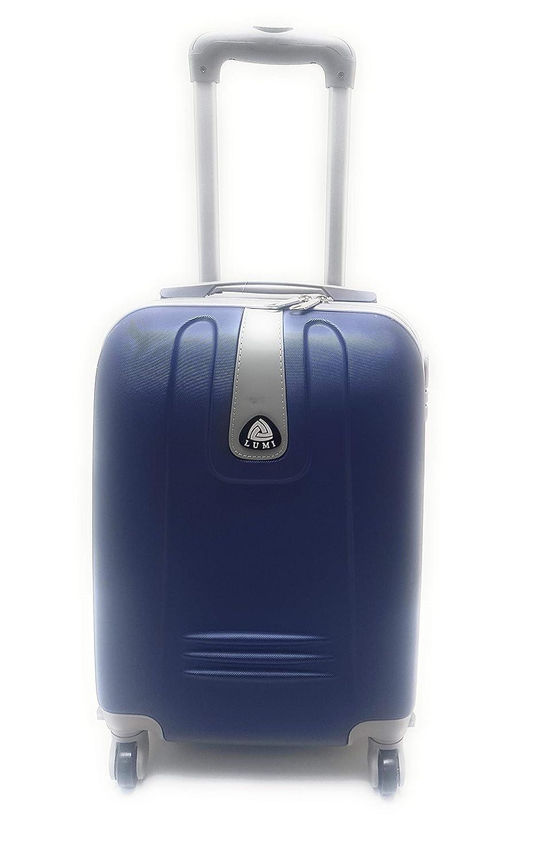 Trolley ryanair plástico rígido Cabina con 4 Ruedas, Equipaje de Mano Azul: Amazon.es: Equipaje