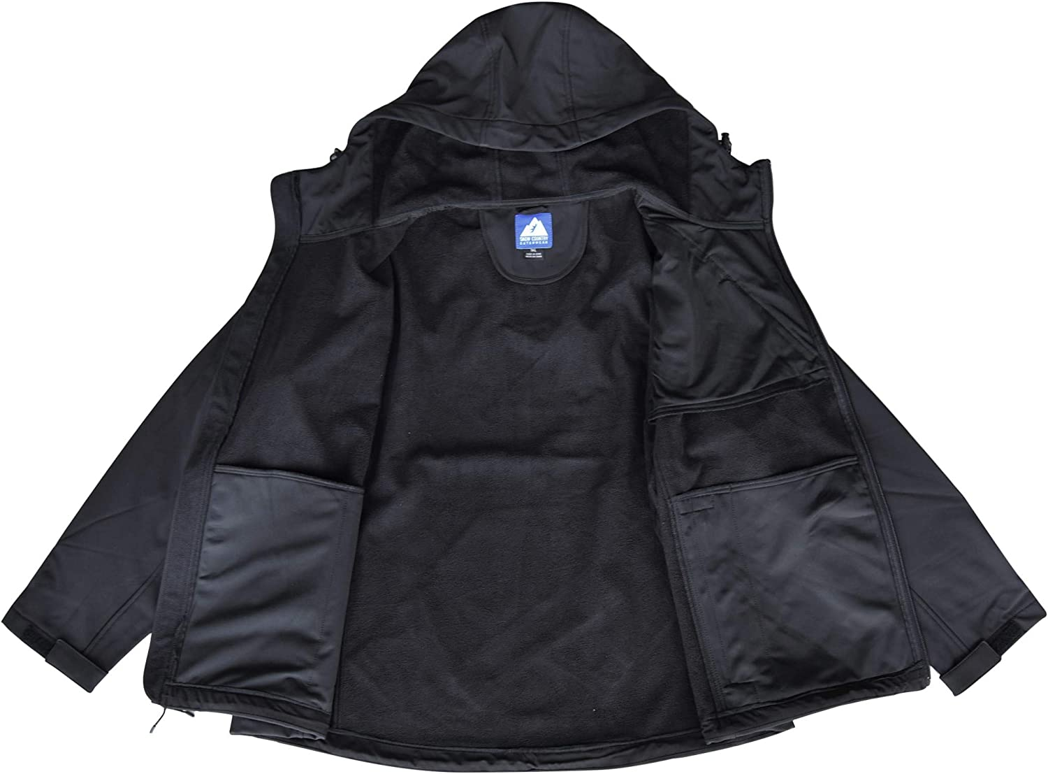 Snow Country Outerwear Womens Plus Size 1X-6X Micro Fleece Soft Shell Jacket Coat