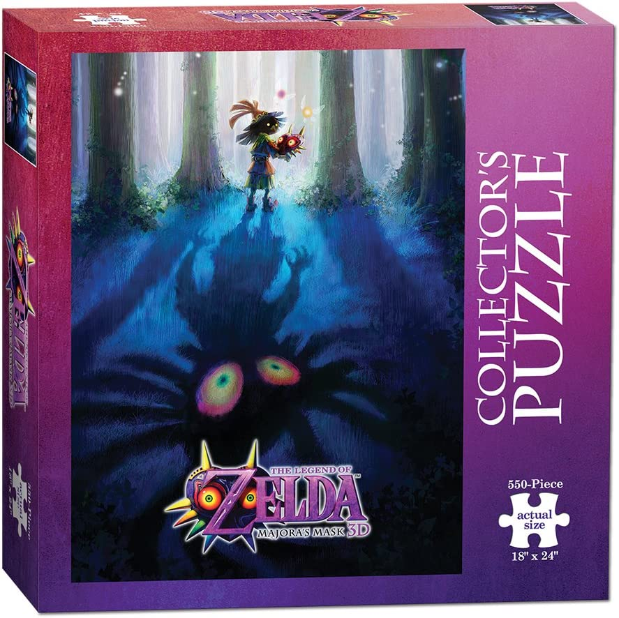 The Legend of Zelda Majoras Mask Collectors Puzzle: USAopoly: Amazon.es: Juguetes y juegos