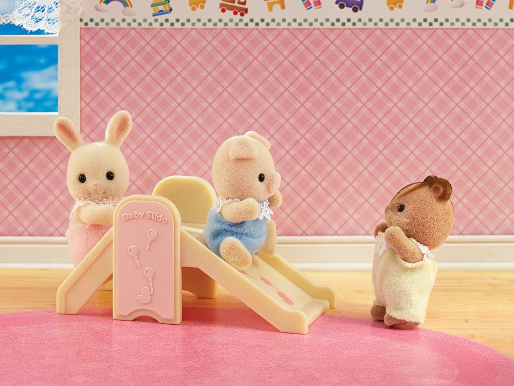Amazon.com: Calico Critters Baby\'s Nursery Set: Toys & Games