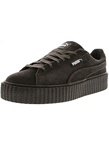 Puma Womens Fenty by Rihanna Gray Creeper Velvet 36446603 Sneakers Shoes  8.5 (Shoes) 12f901ff57
