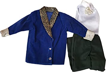 Gi Costume Poupée Action Bleu Ken Joe Vêtements Homme 35RLqj4A