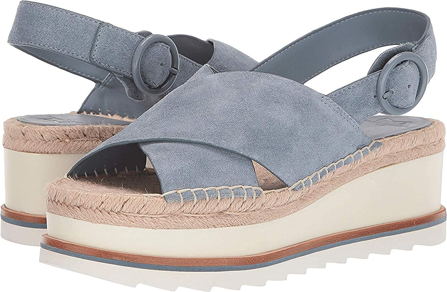 Marc Fisher Womens Glenna Leather Open