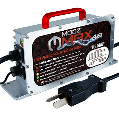 MODZ MAX 48 - Golf Cart High Frequency Rapid Charger - Crowfoot with Six 8 Volt: Automotive