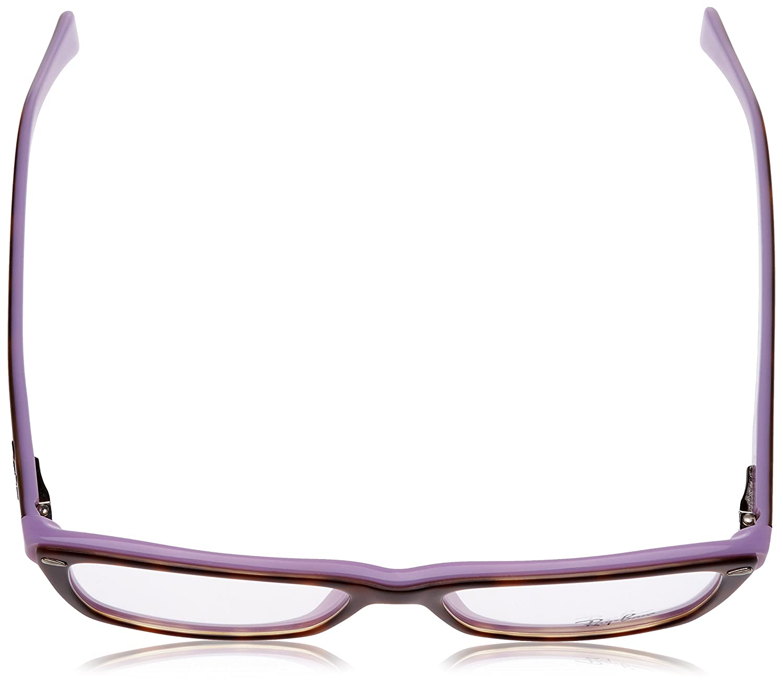 Ray-Ban Damen Brillengestell RX5255, Schwarz (Negro), 53: Amazon.de ...
