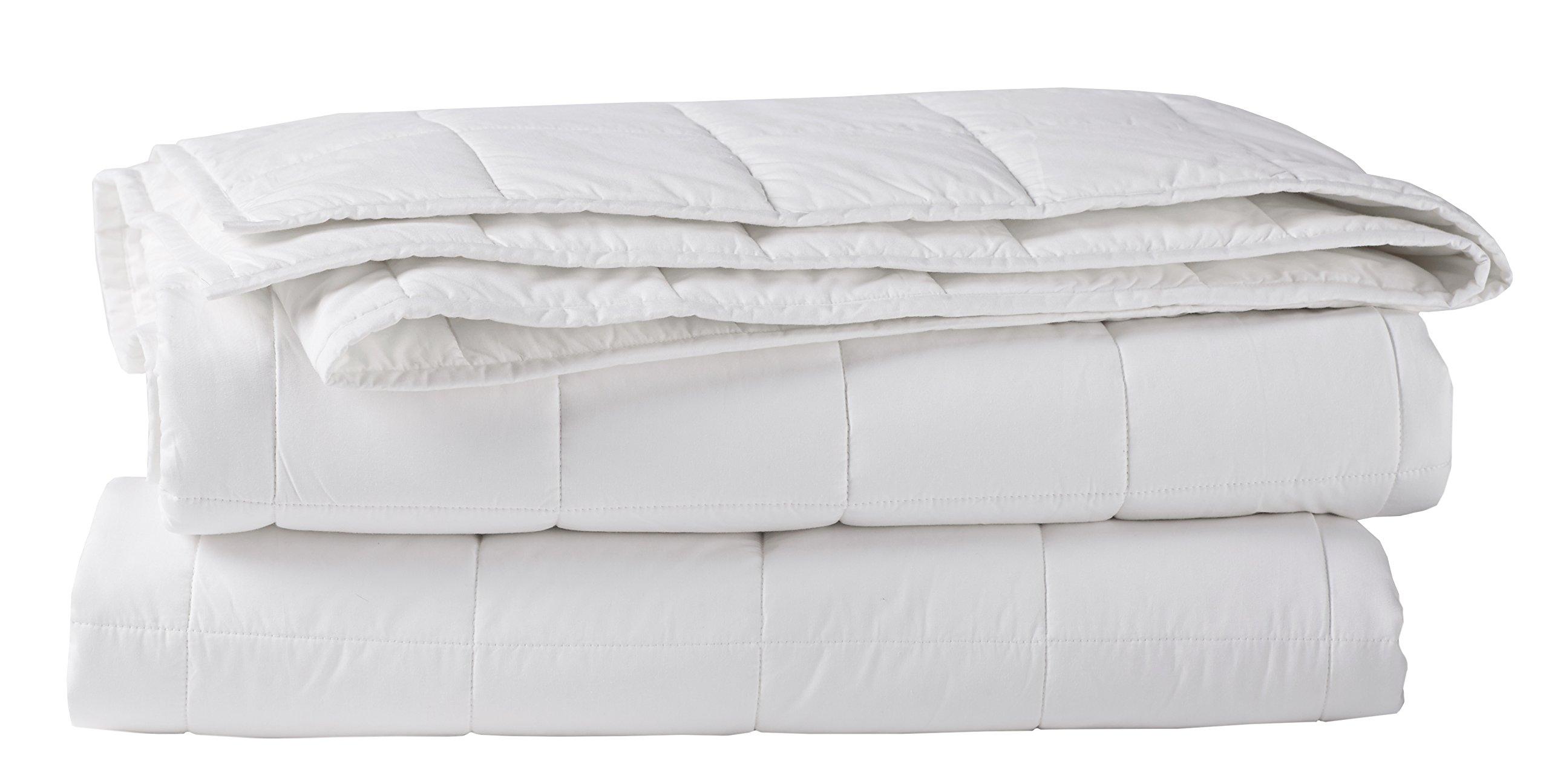 Coyuchi Organic Cotton Comforter, Twin, Alpine White