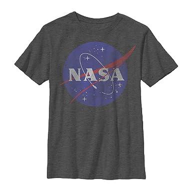 03c8dcd1 Amazon.com: Fifth Sun NASA Boys' Logo T-Shirt: Clothing
