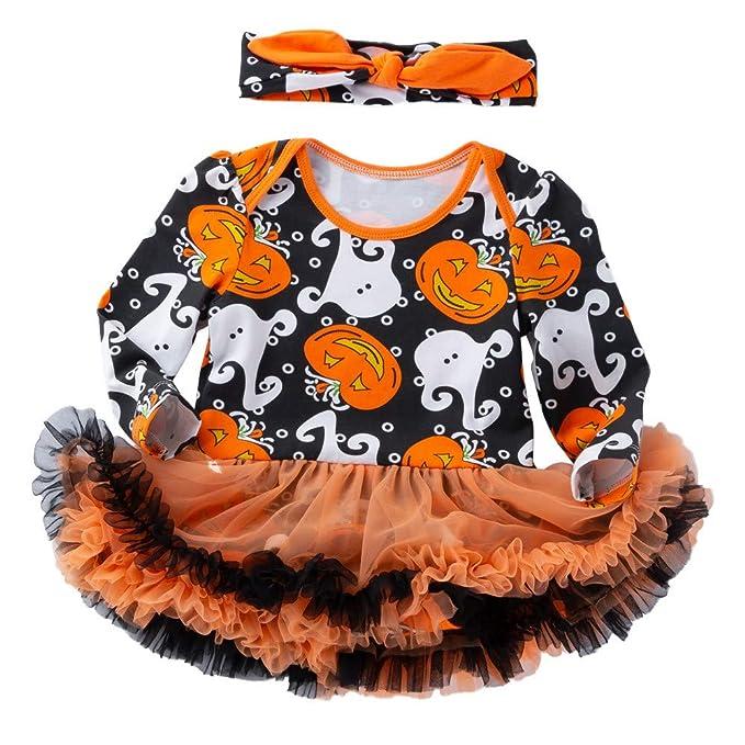 MAYOGO Disfraz Halloween Niña Bebe Recien Nacido 0 a 3 Meses ...