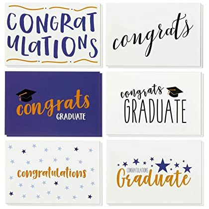 Amazon cambodia shopping on amazon ship to cambodia ship overseas 36 pack graduation cards blank greeting cards greeting cards bulk set graduation greeting cards m4hsunfo