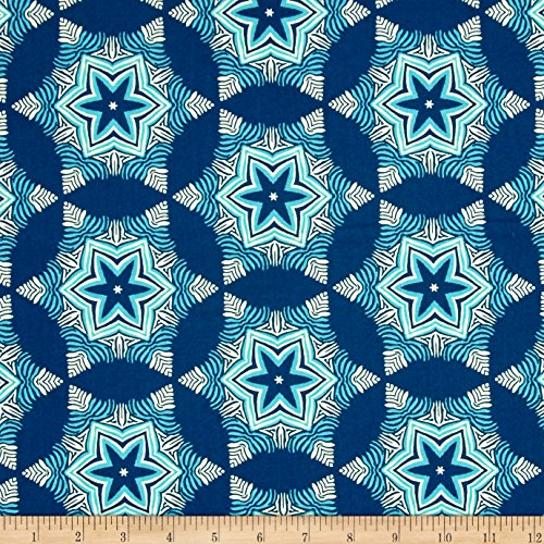 Free Spirit Heather Bailey Hello Love Guru Midnight Fabric By The Yard