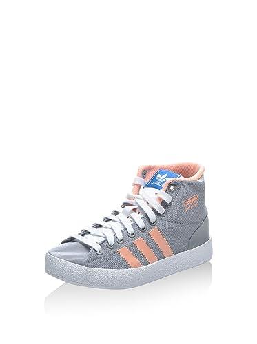 Adidas Zapatillas Abotinadas Basketprofi Light K Gris/Rosa EU 31 TiOMyc