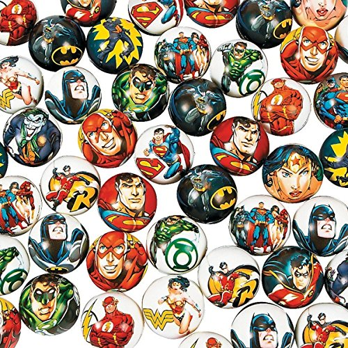 6 x Bälle Superhelden DC Marvel Batman Mitgebsel Joker Kindergeburtstag The Green Lantern Comic Wurfball