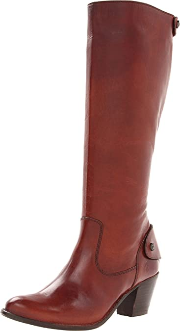 Details about  /Frye Jackie Button Tall Riding Boot Black,Dark Brown