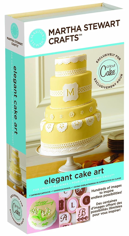 Amazon.com: Cricut Martha Stewart Crafts Cartridge, Elegant Cake Art ...