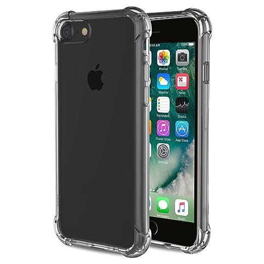 26 opinioni per Cover iPhone 7 ,Custodia iPhone 7 Richoose iPhone 7 Crystal Clear flessibile TPU