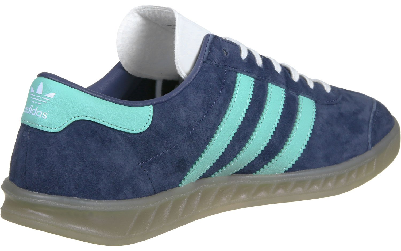 adidas Hamburg W Shoes Midnight GreyEasy Green: Amazon.co