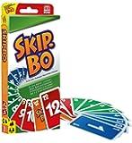 Mattel Games 52370 Skip-Bo Kartenspiel und Familienspiel geeignet für 2 - 6 Spieler, Spiel ab 7 Jahren