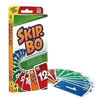 Mattel Games Skip-Bo Jeu de Société et de Cartes, 52370