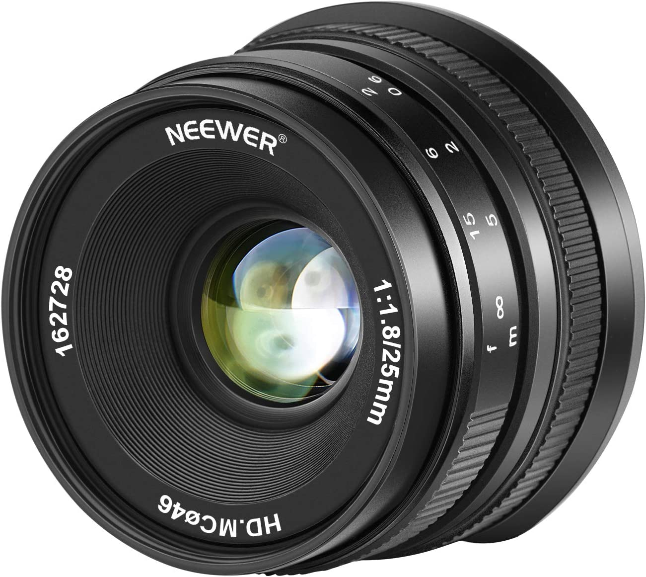 Neewer lente gran angular 1.8 gran apertura 25mm