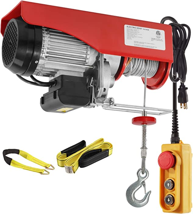 Top 10 Electric Hoists At Home Depot