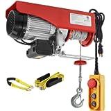 Partsam 2200 lbs Lift Electric Hoist Crane Remote Control Power System, Zinc-Plated Steel Wire Overhead Crane Garage…