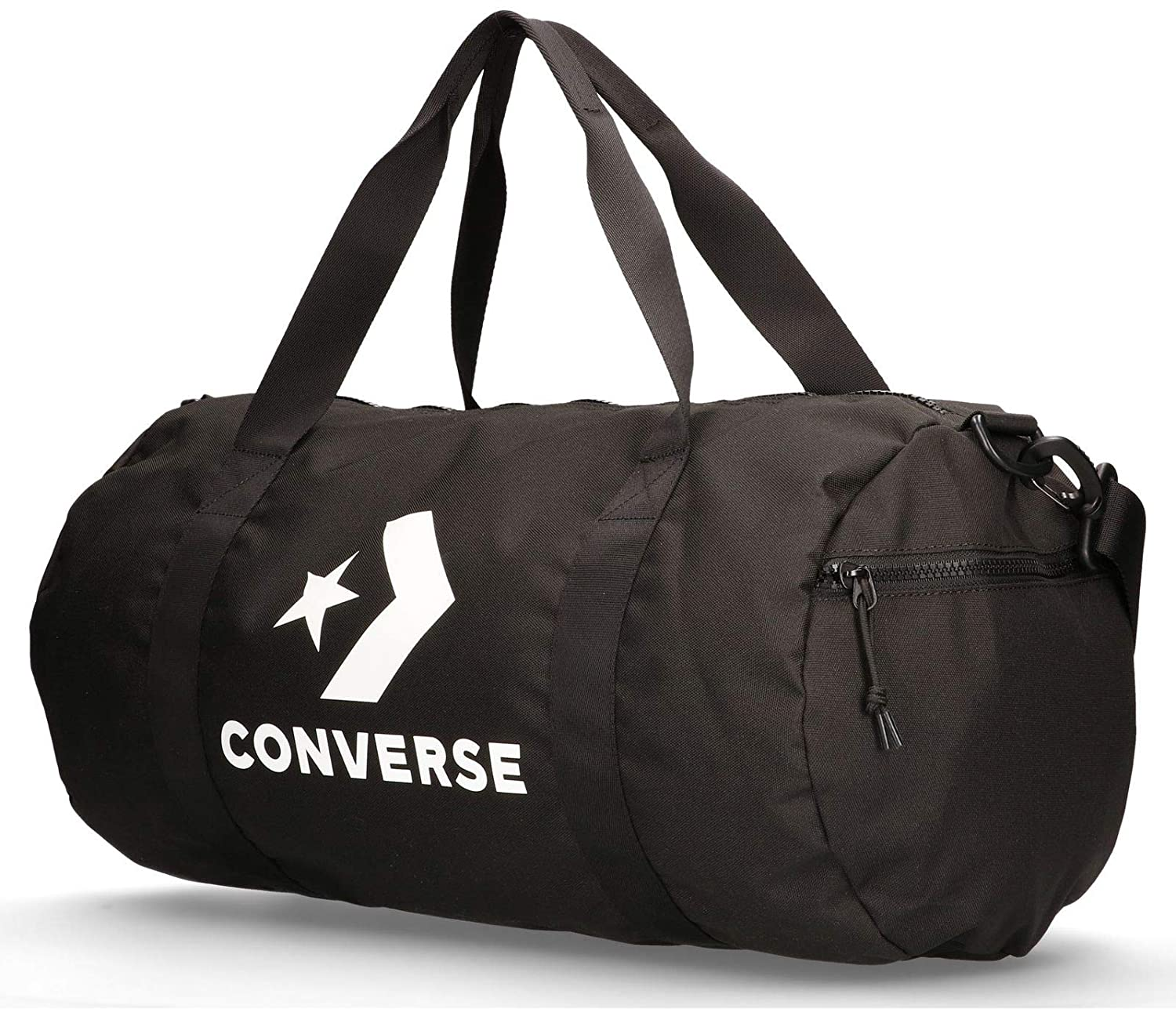 Amazon.com | Converse Sport Duffel Bag Backpack Black/White, One Size |  Travel Duffels