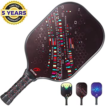 Amazon.com : Oppum Pickleball Paddle Graphite Faced ...