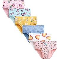 Infant Little Baby Girls Soft Cotton Briefs Underwear Toddler Hipster Kids Boxer Panties Undies Boyshort