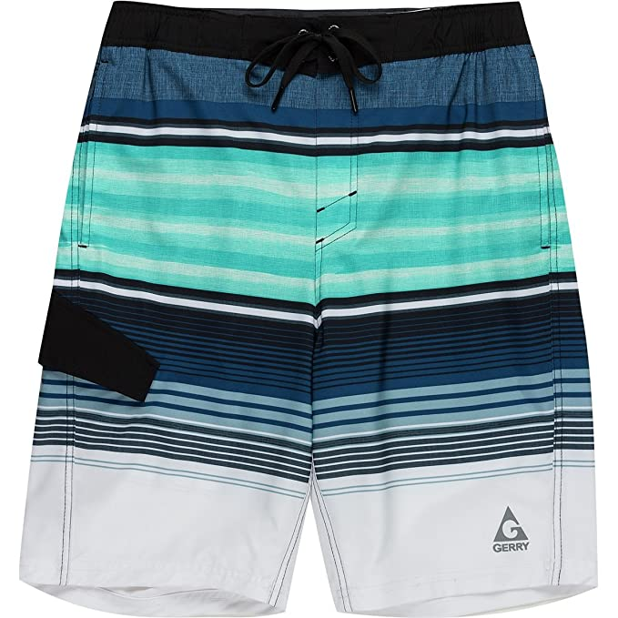 f12f7dd034 Gerry Cody Stripe Board Short - Men's Cody Stripe, XXL | Amazon.com