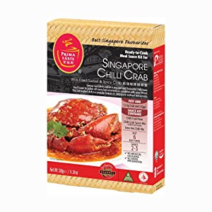 Prima Taste Singapore Chilli Crab Ready To Cook Sauce Kit, 320g, (Pack of 2)