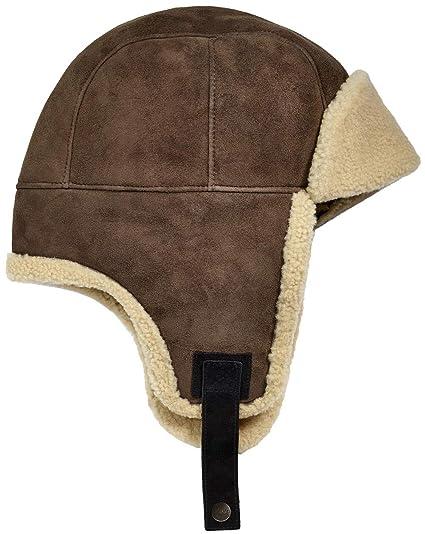 09cafe68ff3 UGG Mens Sheepskin Trapper Hat at Amazon Men s Clothing store