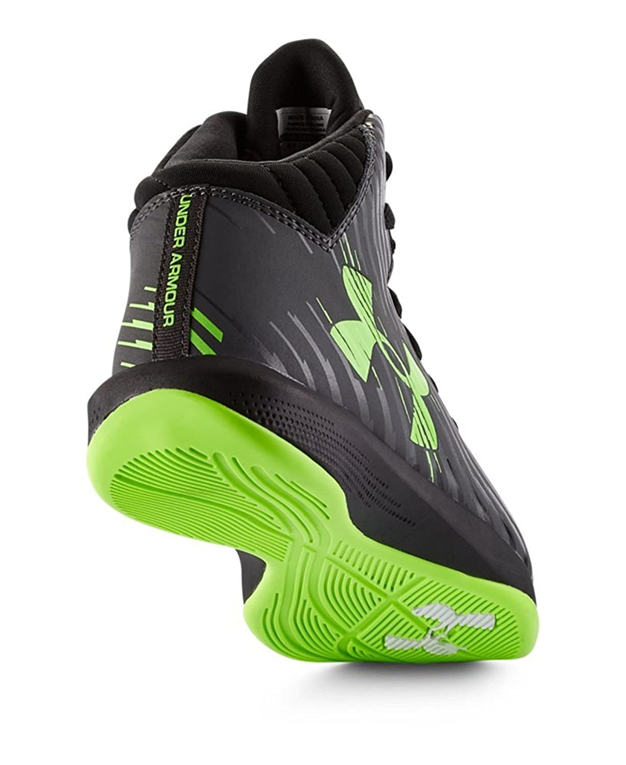 Amazon.com | Under Armour Kids Jet Basketball Shoes Hyper Green Size 5 M US | Basketball
