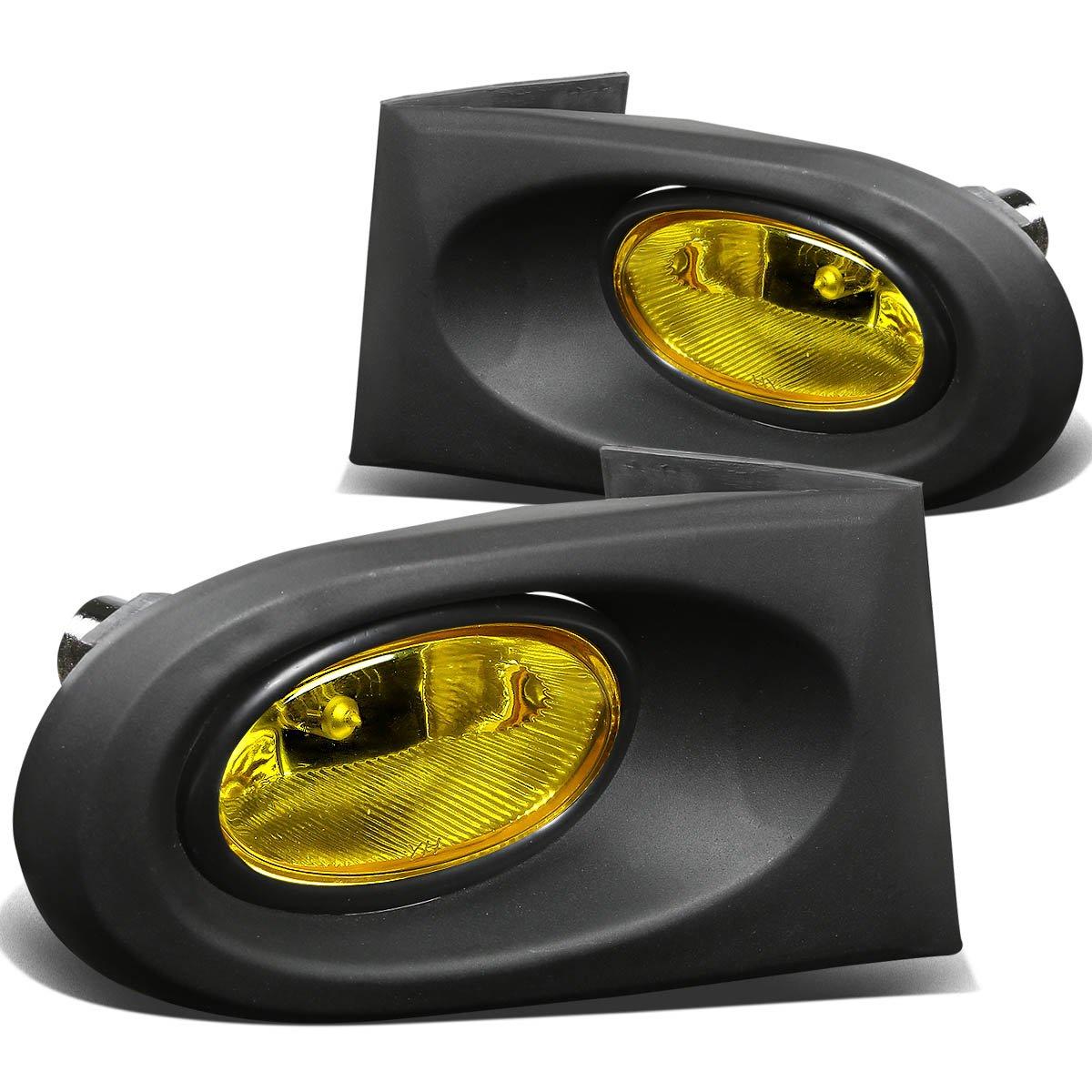 Amazon.com: For Acura RSX Driving Bumper Fog Light+Bulbs+Switch (Amber  Lens) - DC5 K20: Automotive