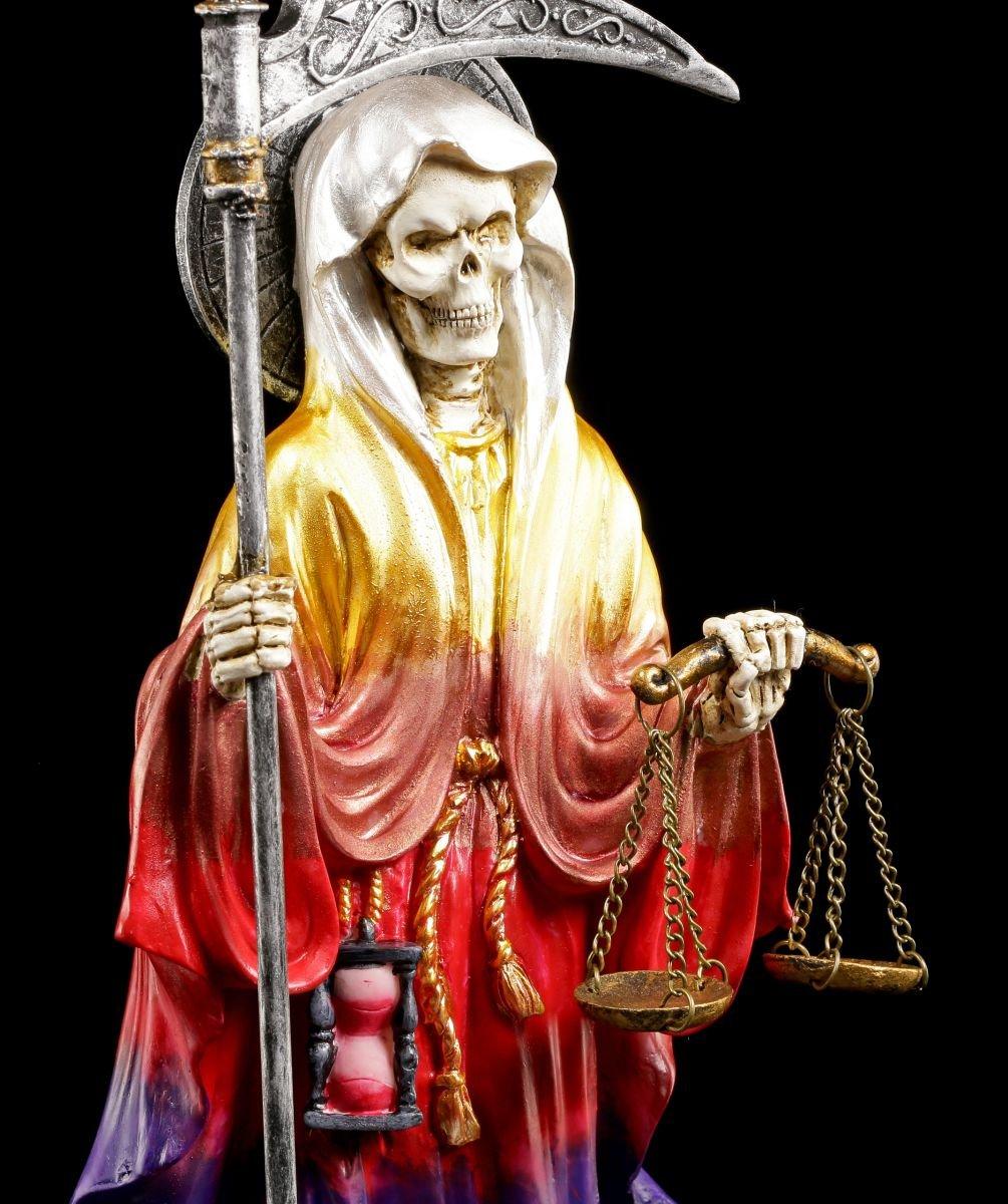 Santa Muerte Figur regenbogenfarben - La La La Santisima Muerte - Reaper Sensenmann 938768